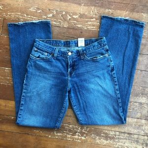Lucky Brand Mid Rise Flare Jeans, size 8